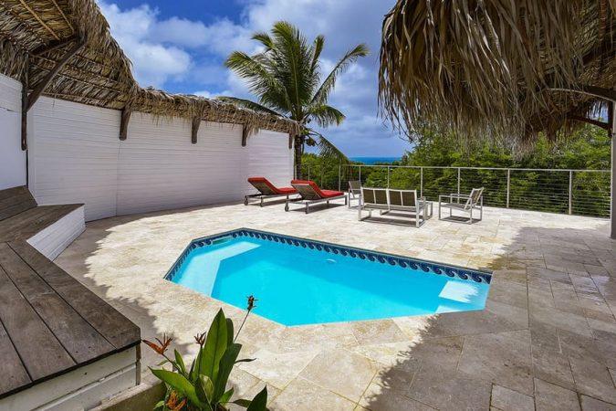 Bungalow Tartane Martinique piscine privée