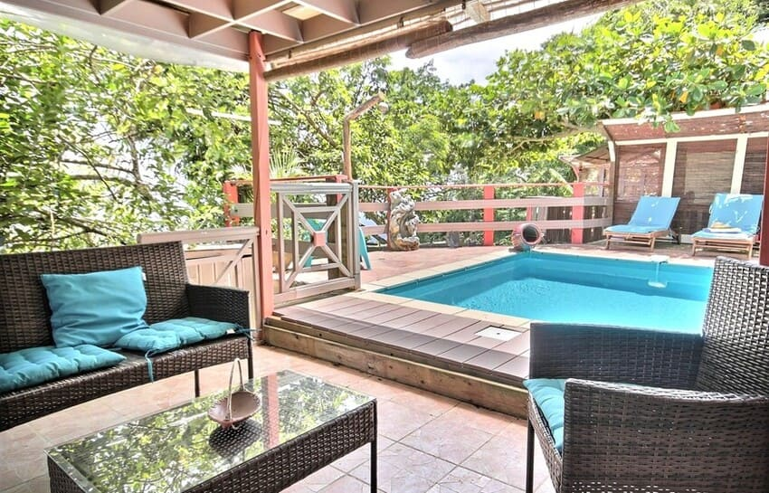 Martinique Cottage L Inka Piscine 4