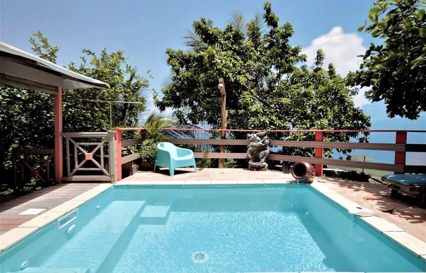 Location Bungalow Piscine Privee Martinique